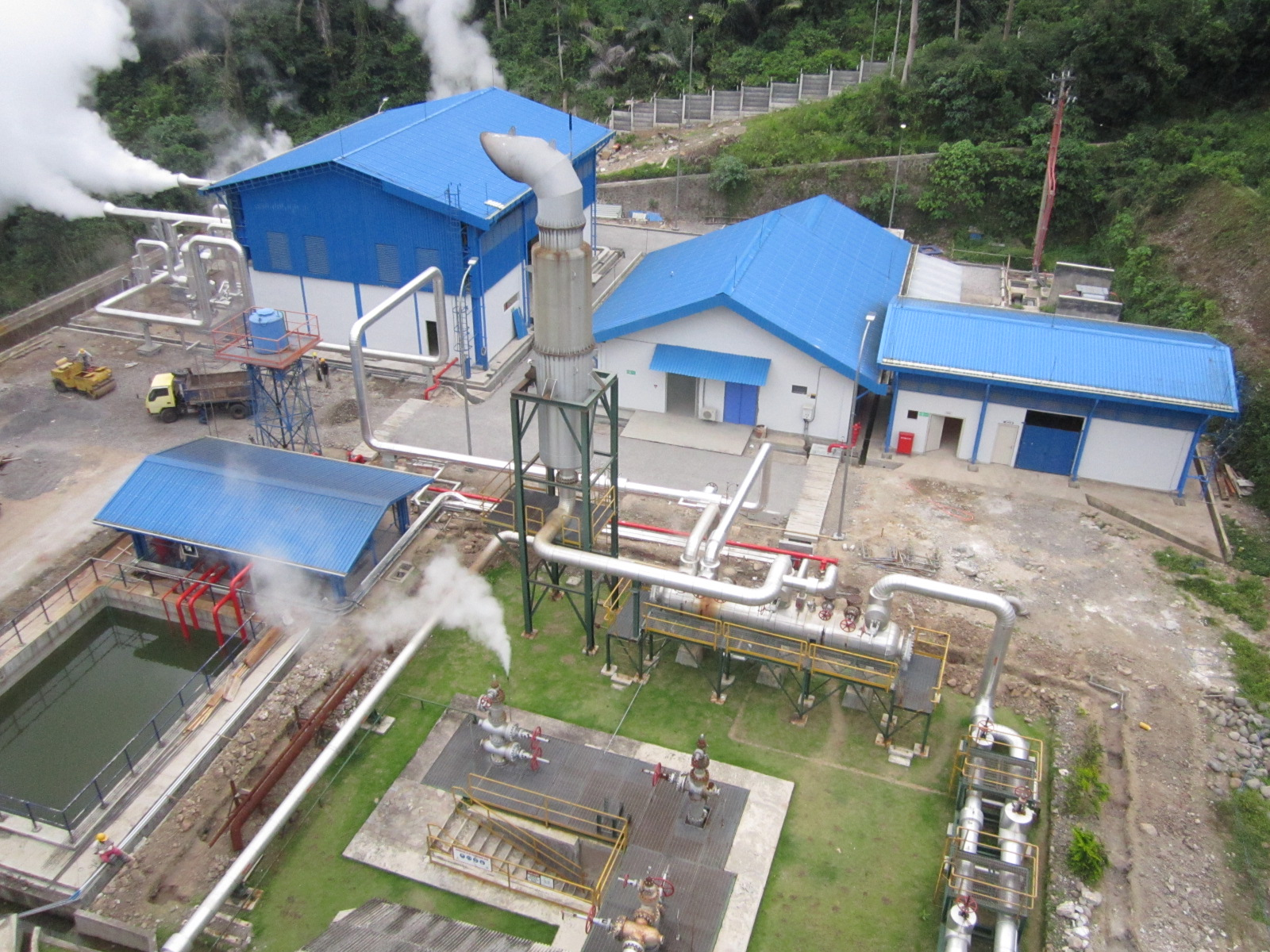 missioned Ulumbu 2 x 2 5 MW Geothermal Power Plant